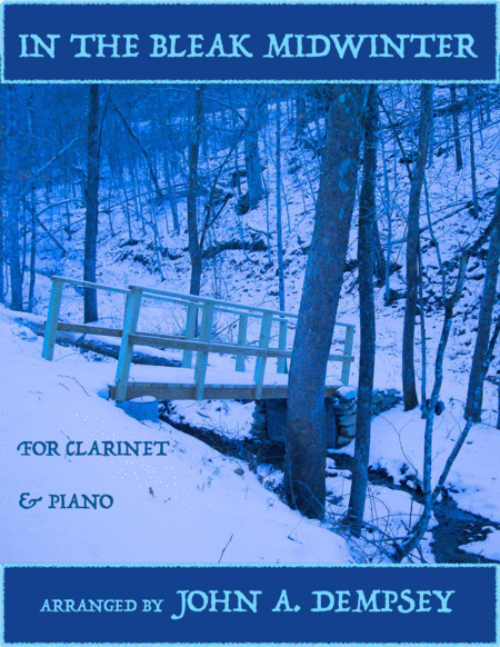 In the Bleak Midwinter (Clarinet and Piano Duet)