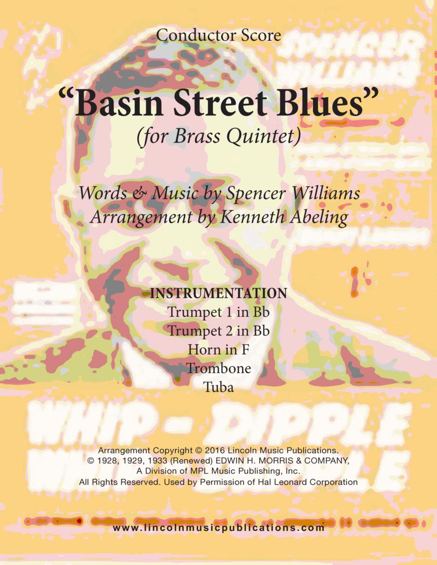 Dixieland - Basin Street Blues (for Brass Quintet)