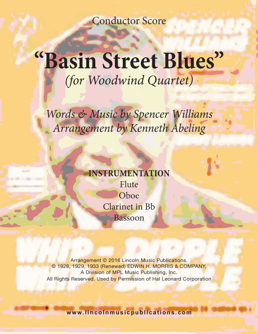 Dixieland - Basin Street Blues (for Woodwind Quartet)