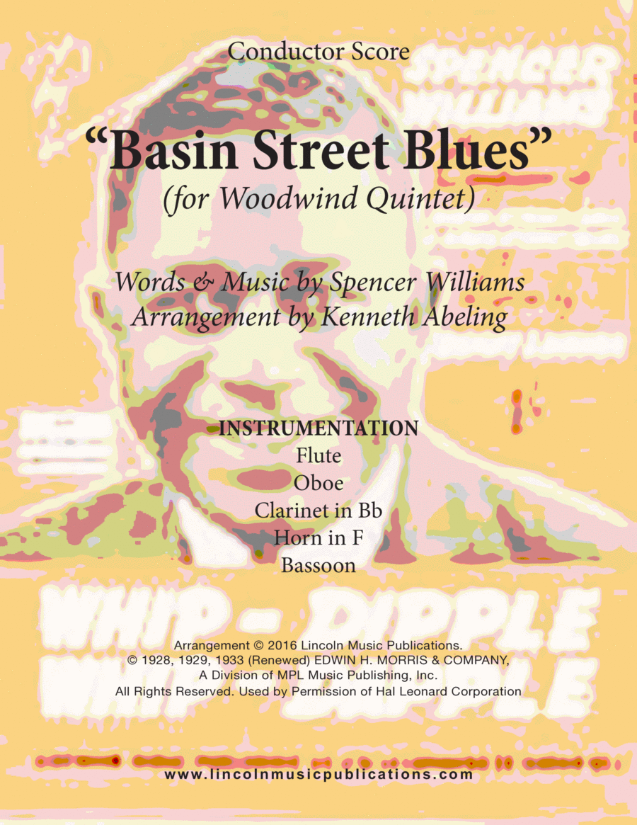Dixieland - Basin Street Blues (for Woodwind Quintet)