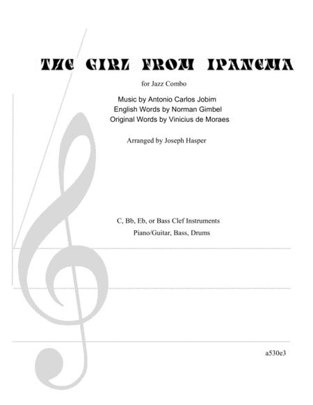 The Girl From Ipanema (Basic Jazz Combo)