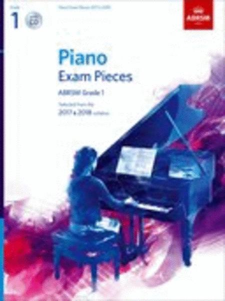 Piano Exam Pieces 2017 & 2018, ABRSM Grade 1, with CD