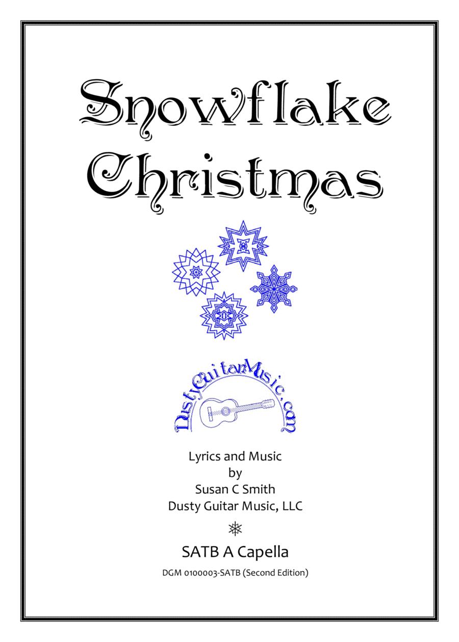 Snowflake Christmas SATB A Capella