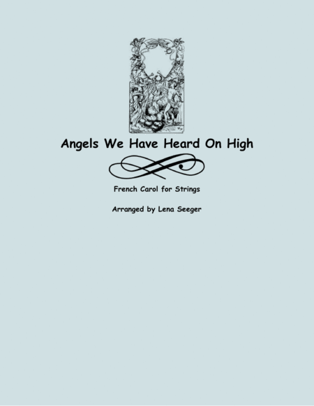 Angels We Have Heard on High (two violins and cello)