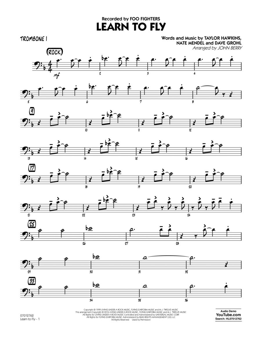 Learn to Fly - Trombone 1