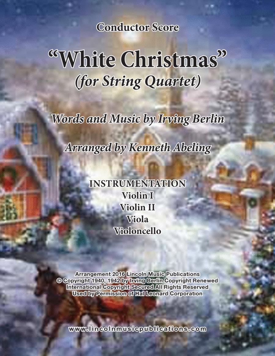 White Christmas (for String Quartet)