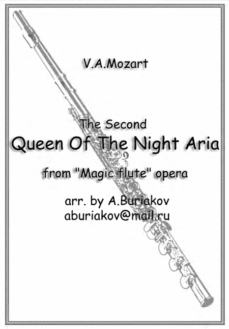 The Second  Queen Of The Night Aria (flute)
