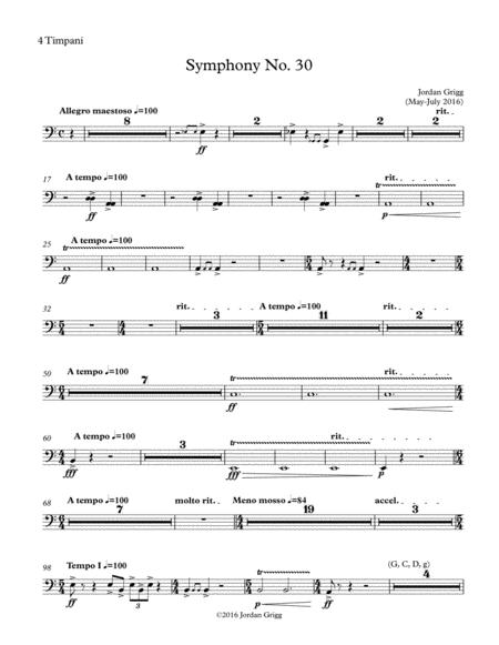 Symphony No. 30 Parts 2