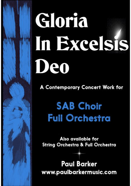 Gloria In Excelsis Deo (Score & Parts)