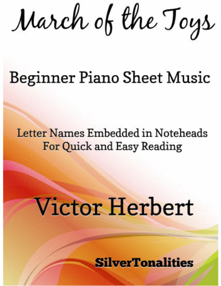 March of the Toys Beginner Piano Sheet Music
