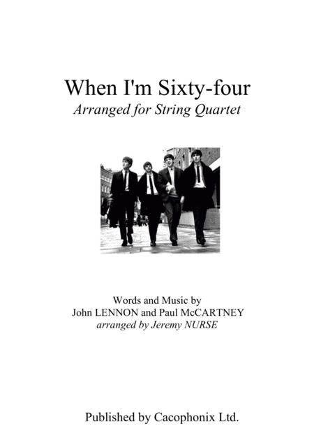 When I'm Sixty-Four (String Quartet)