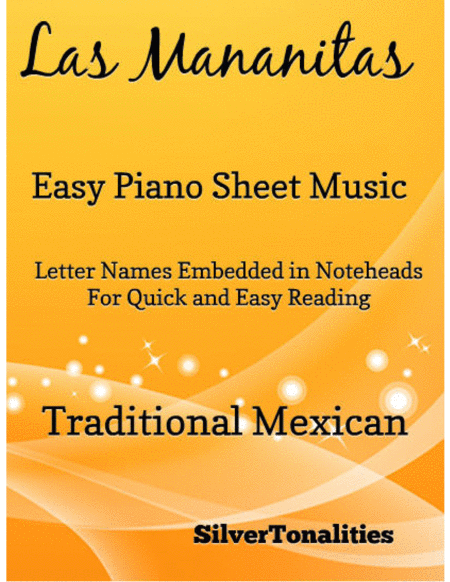 Las Mananitas Easy Piano Sheet Music