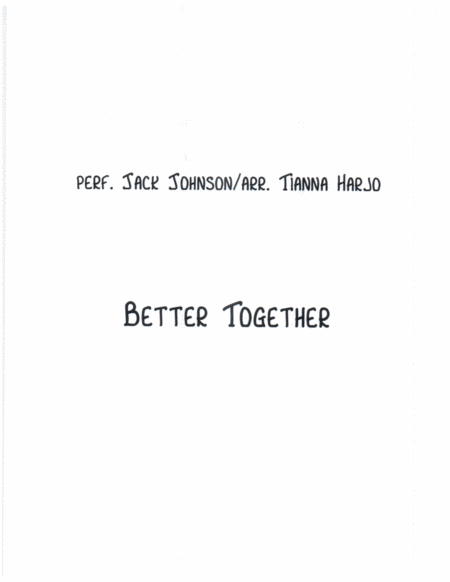 Better Together - String Trio (2 vns, cello)