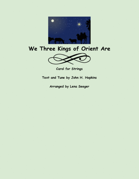 We Three Kings (string trio)