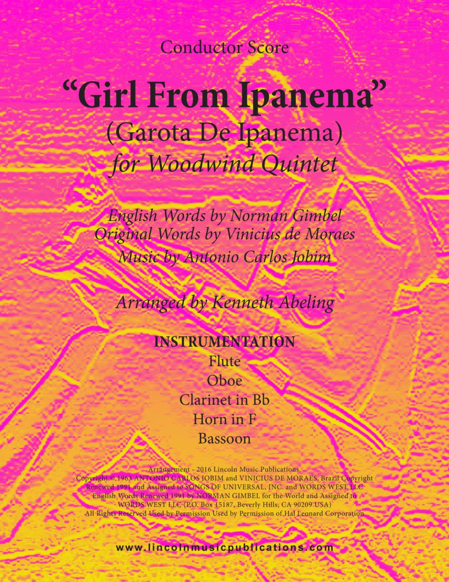 Jazz - The Girl From Ipanema (Garota De Ipanema) (for Woodwind Quintet)