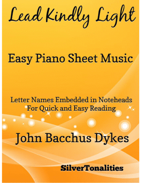 Lead Kindly Light Easy Piano Sheet Music