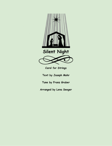 Silent Night (two violins and cello)