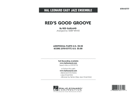 Red's Good Groove - Conductor Score (Full Score)