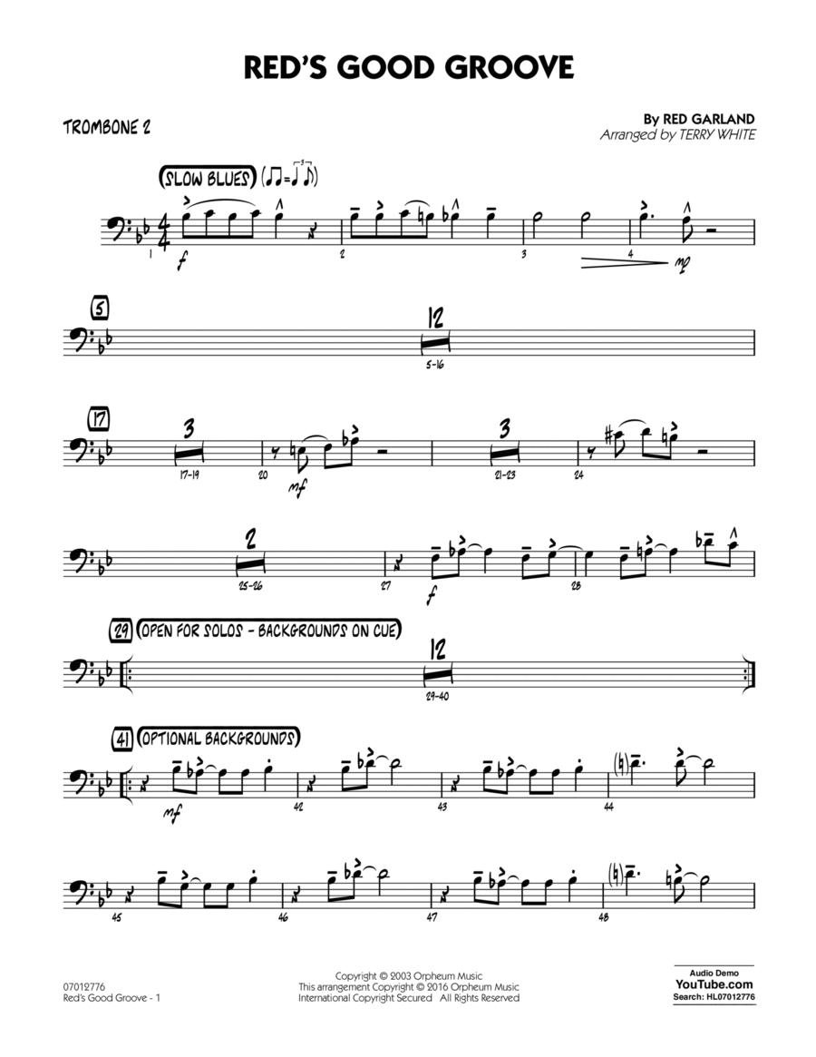 Red's Good Groove - Trombone 2