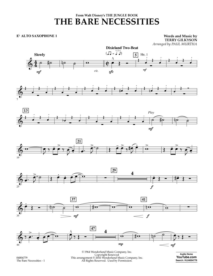 The Bare Necessities - Eb Alto Saxophone 1