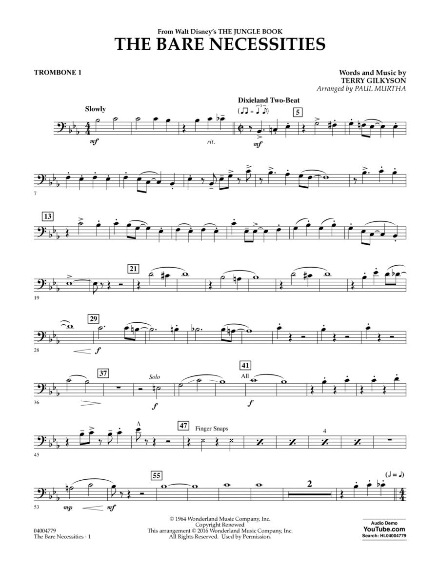 The Bare Necessities - Trombone 1