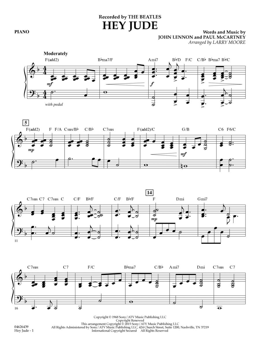 Hey Jude - Piano