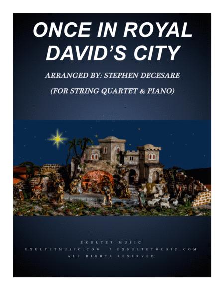 Once In Royal David's City (for String Quartet)