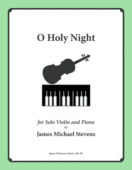 O Holy Night - Solo Violin