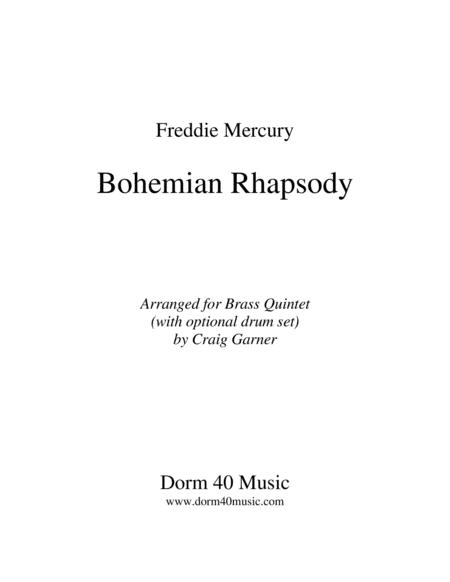 Bohemian Rhapsody for Brass Quintet
