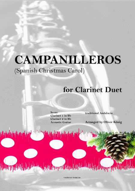 Campanilleros-Spanish Christmas Carol-for Woodwind Duet