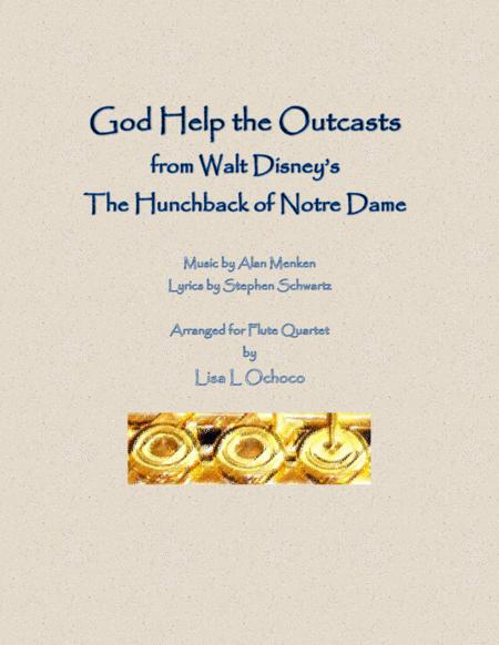 God Help The Outcasts for Flute Quartet