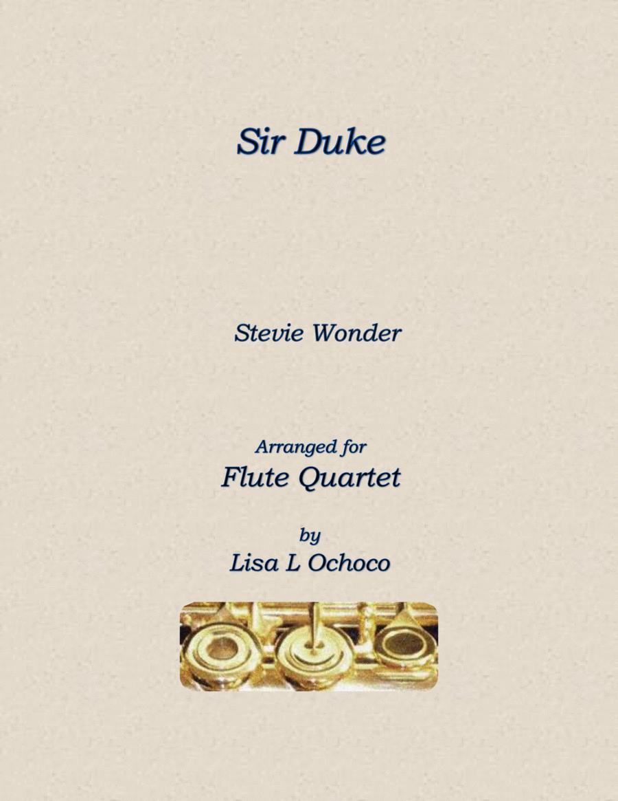 Sir Duke for Flute Quartet