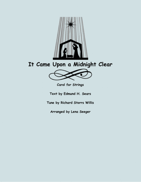 It Came Upon a Midnight Clear (two violins and cello)