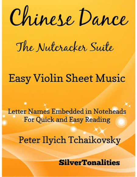 Chinese Dance Nutcracker Suite Easy Violin Sheet Music