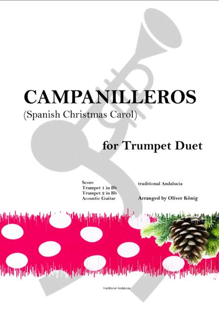 Campanilleros-Spanish Christmas Carol-for Brass Duet