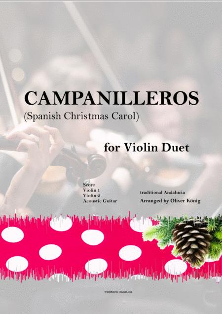Campanilleros-Spanish Christmas Carol-for String Duet