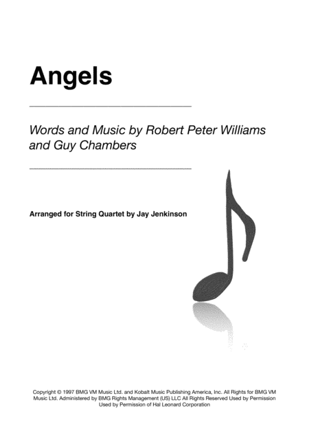 Angels for String Quartet