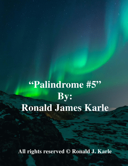 Palindrome #5