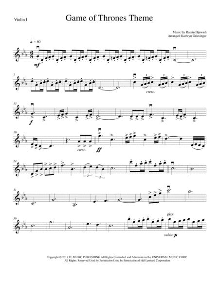 Game Of Thrones - String Quartet