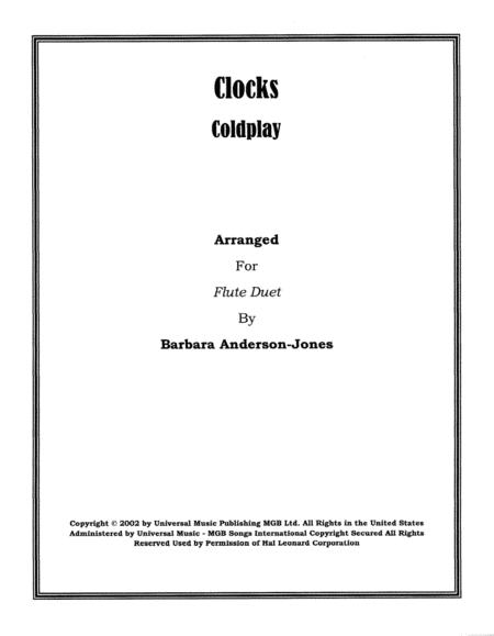 Clocks (Flute Duet)