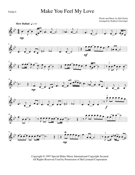 Can You Feel The Love Tonight Pdf String Quartet For Weddings