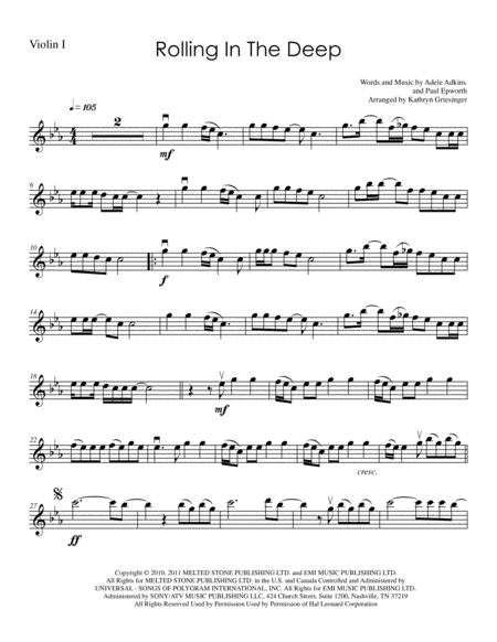 Rolling In The Deep - String Quartet