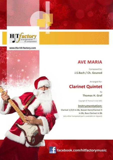 Ave Maria - Bach/Gounot - Clarinet Quintet