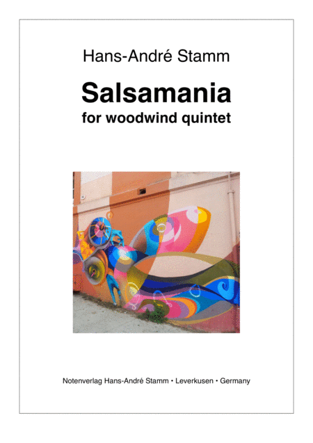 Salsamania for woodwind quintet