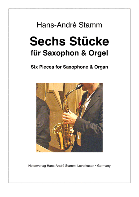 Six Pieces for Saxophone & Organ