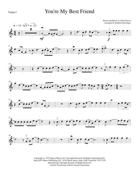 You're My Best Friend - String Quartet