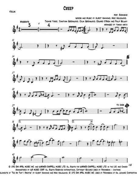 Creep - String Trio (vln, vla, cello)