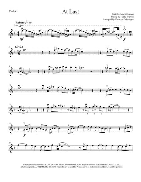 At Last - String Quartet