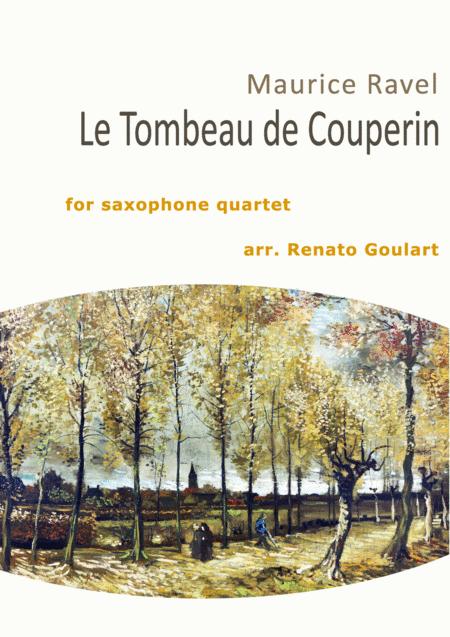 Le Tombeau de Couperin (Saxophone Quartet)