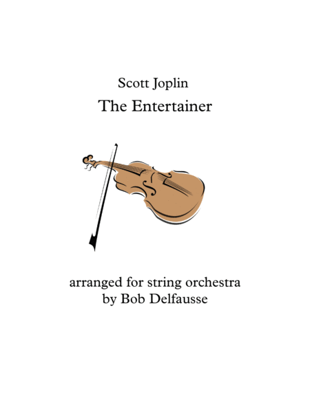 Scott Joplin's The Entertainer